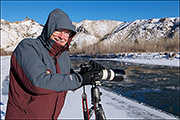 Dave Burke Along The North Fork