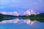 oxbow bend, mount moran