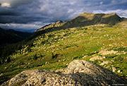 Holy Cross Ridge Passing Storm