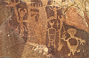 Dinwoody, petroglyph, eastern shoshone