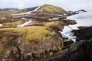 laugevegur, glacier