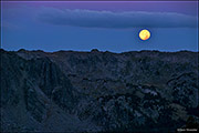 Full Moon Over New Fork Canyon