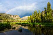 Rainbow Over Rocky