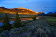 Green River Headwaters Sunset