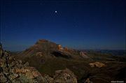 Moonlight On Uncompahgre Peak