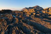 Digertinden, Flakstad, Lofoten