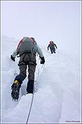 glacier, cordillera huayhuash