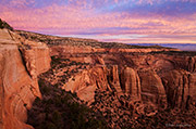 Colorado National Monument, coke ovens, Artist Point