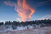 wave cloud, flatirons, front range