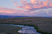 Upper Green River, Wind River Range, Warren Bridge