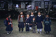 Nepali kids, Sagarmatha National Park