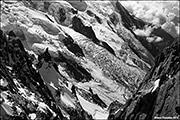 Mer De Glace On Mont Blanc