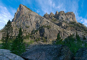 Granite Spires Over New Fork Canyon