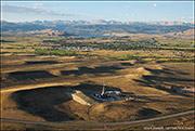pinedale anticline natural gas field, mule deer winter range