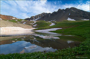Wright Lake, Yankee Boy Basin, Uncompahgre National Forest