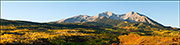 Mount Sopris Autumn Panorama