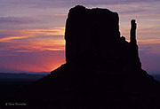 West Mitten Butte, Monument Valley Tribal Park