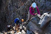 Climbing Wilson Peak