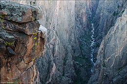 Black Canyon of The Gunnison National Park, Colorado, Exclamation Point