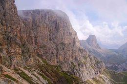 Cima Di Terrarossa, Dolomite Alps