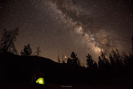 Nightfall on La Poudre Pass