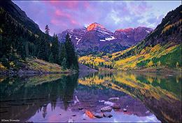 maroon peak, maroon lake