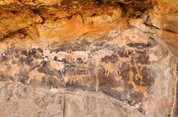 petroglyphs, Los Animas County, Native American