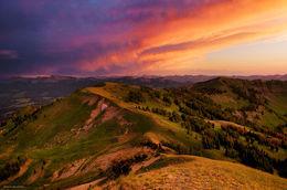 Wyoming Range Sunset
