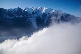 chamonix valley, mont blanc