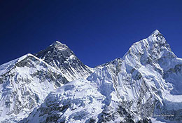 Mount Everest, Sagarmatha National Park