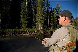 Dan Bailey Fishing The Hoback
