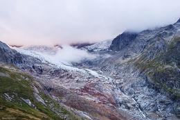 glacier, rifugio elisabetta