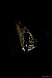 Entering Inca Cave