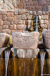 Incan fountains, Cusco