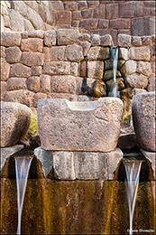 Incan fountains, Cusco