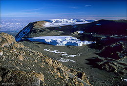 global warming, glaciers, Kilimanjaro National Park
