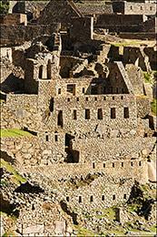 Machu Picchu Closeup