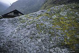 Mani Stone, Namche Bazaar, Nepal, Everest Base Camp, Sagarmatha National Park