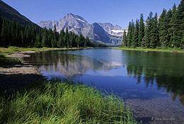 Mt. Gould, Lake Josephine, Glacier National Park