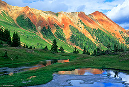 red mountain, uncompahgre national forest,