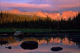 Red Rock Lake, Indian Peaks Wilderness, sunrise