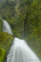 wahkeena falls, Columbia River Gorge National Scenic Area