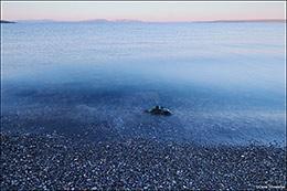 yellowstone lake, mount sheridan