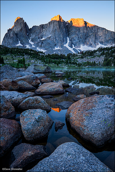 cirque of the towers, wind river range, photo