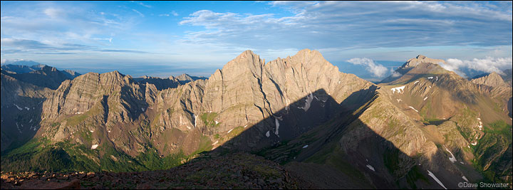 Crestone Needle, Crestone Peak, Kit Carson Mountain, Humboldt Peak, Sangre De Cristo Wilderness Area, photo