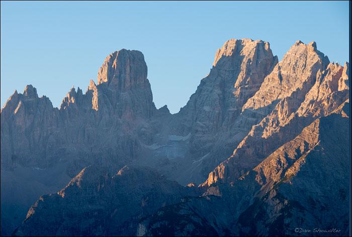 Piz Popena, Cima De Mezzo, Dolomite Alps, photo