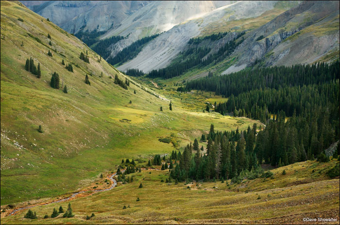 The Upper East Fork flows into the East Fork of the Cimarron River high in the Uncompahgre Wilderness Area. The Cimarron...