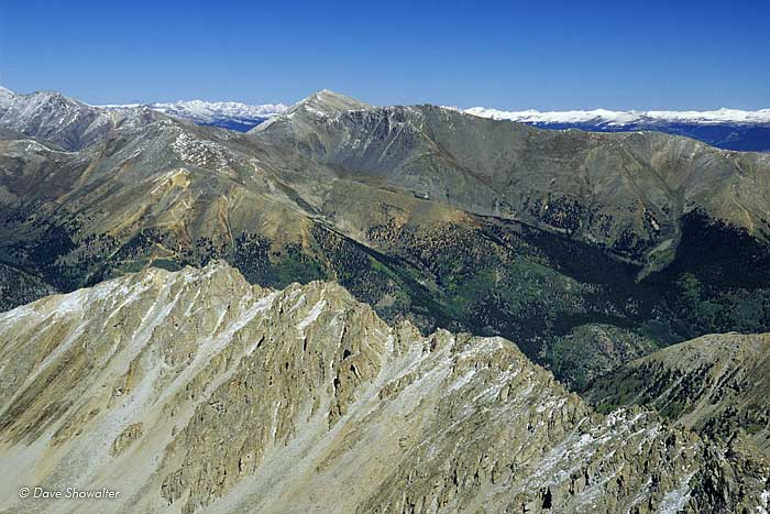 Mount Elbert, LaPlata Peak, Mount Massive Wilderness Area, photo