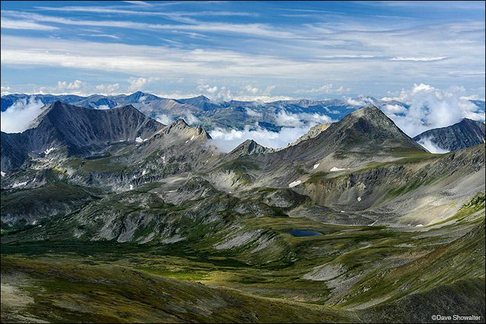 Mount Belford, Sawatch Range, Rocky Mountains, photo