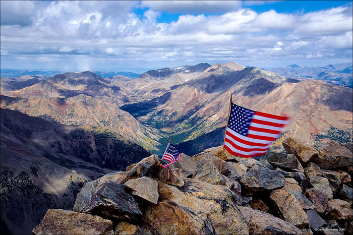 Mount Elbert, 9-11, Mount Massive Wilderness Area
